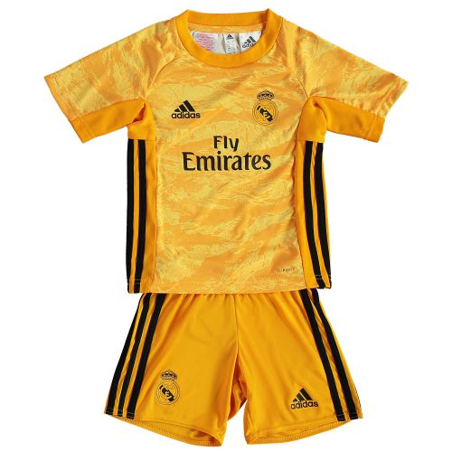 Real Madrid Home GK Mini Kit 2019 - 20 with Navas 1 printing