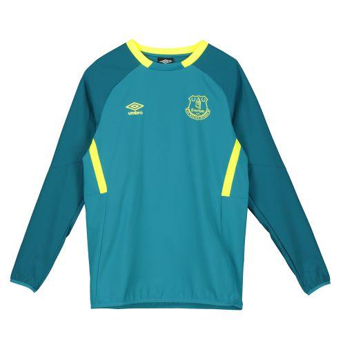 Everton Training Drill Top - Blue - Kids
