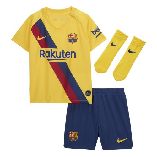 Barcelona Away Stadium Kit 2019-20 - Infants with O. Dembélé 11 printing