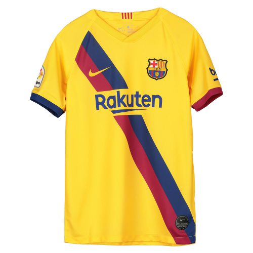Barcelona Away Stadium Shirt 2019-20 - Kids with Jordi Alba 18 printing
