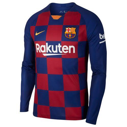 Barcelona Home Stadium Shirt 2019-20 - Long Sleeve with S.Roberto 20 printing
