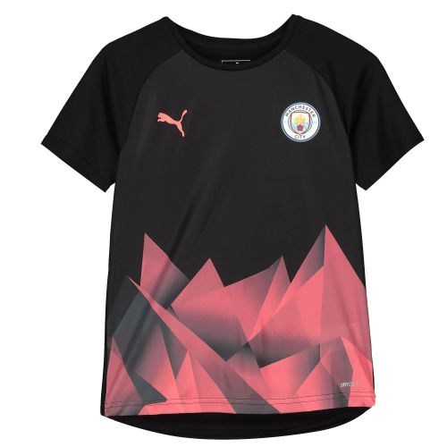 Manchester City Stadium Jersey - Black - Kids