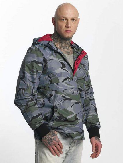 Thug Life / Lightweight Jacket Threat in grey