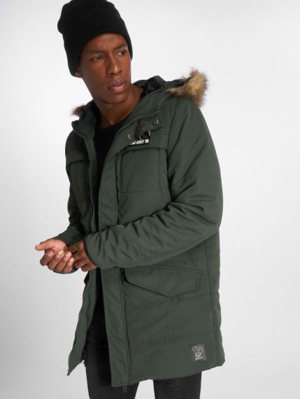 Who Shot Ya? / Winter Jacket Battle Bass in olive