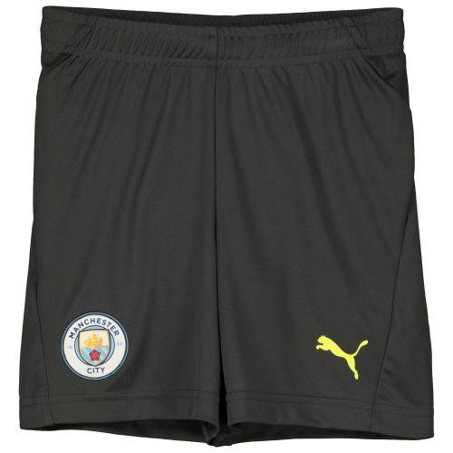 Manchester City UCL Training Shorts - Dark Grey - Kids