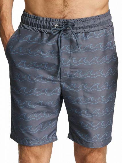 Just Rhyse / Swim shorts Salton City in grey