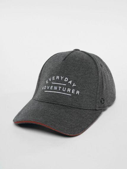 Just Rhyse / Snapback Cap Adventurer in grey