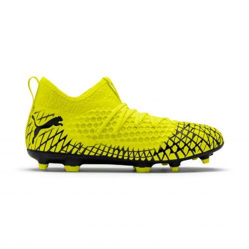 Puma Future 4.3 Netfit Firm Ground Football Boots - Yellow
