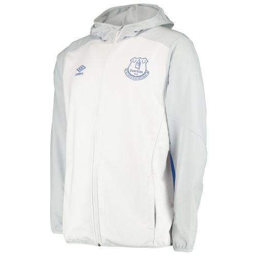 Everton Hooded Jacket - White