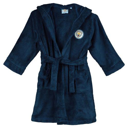 Manchester City Robe - Navy - Boys