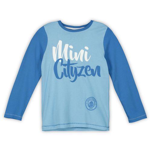 Manchester City LS Mini Cityzen Pyjama Set - Blue - Boys