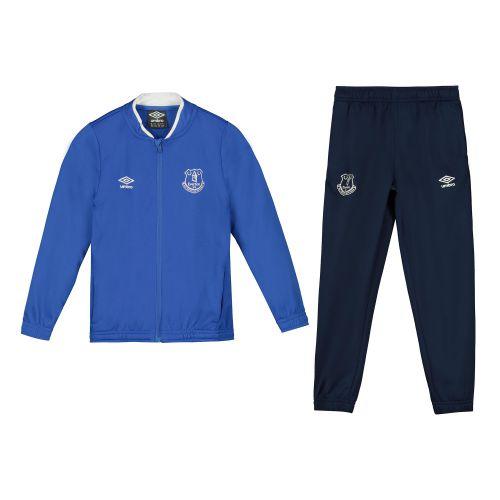 Everton Travel Knitted Tracksuit - Blue - Infants