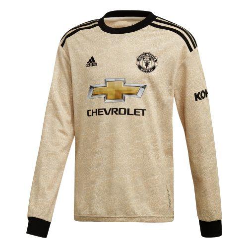 Manchester United Away Shirt 2019 - 20 - Kids - Long Sleeve
