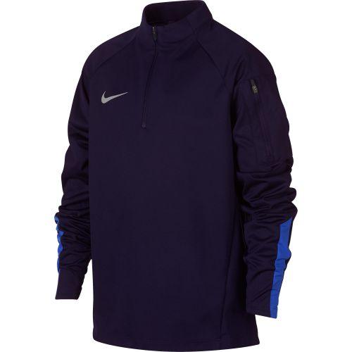 Nike Shield Squad Drill Top - Dark Blue - Kids