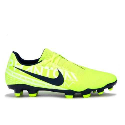 Nike Phantom VNM Academy Firm Ground Football Boots - Volt