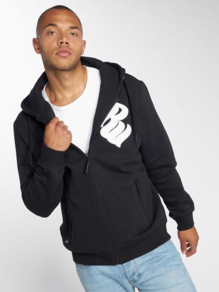 Rocawear / Zip Hoodie Logo in black