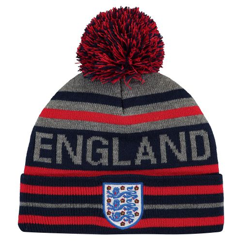 England Striped Wordmark Knit - Navy - Adult