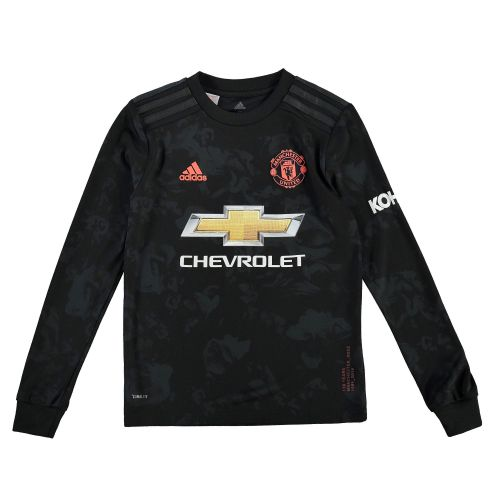 Manchester United Third Shirt 2019 - 20 - Kids - Long Sleeve with Pogba 6 printing