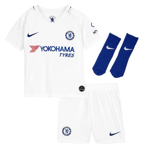 Chelsea Away Stadium Kit 2019-20 - Infants with Abraham 9 printing