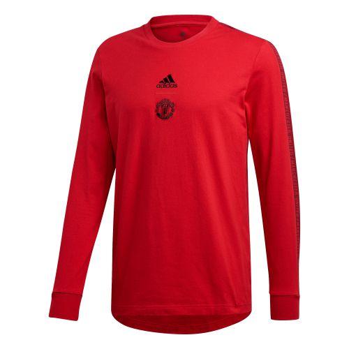 Manchester United Seasonal LS Tee - Red