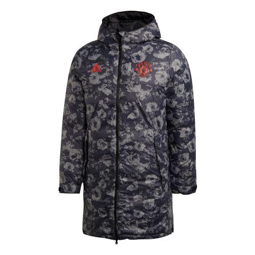Manchester United Seasonal Long Coat - Black