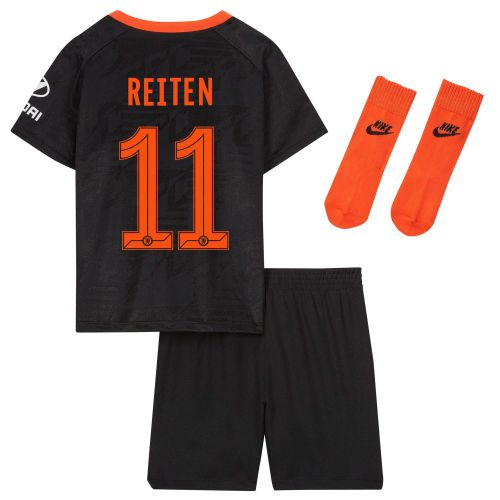 Chelsea Third Cup Stadium Kit 2019-20 - Infants with Reiten 11 printing