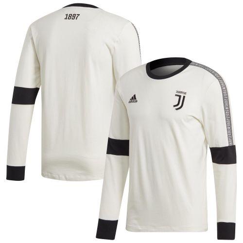Juventus Seasonal Long Sleeve Tee - White