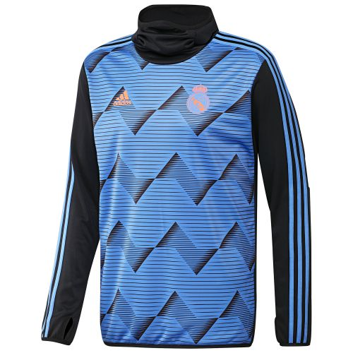 Real Madrid Pre-Match Warm Top - Navy