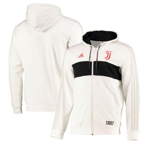 Juventus Full Zip Hoodie - White