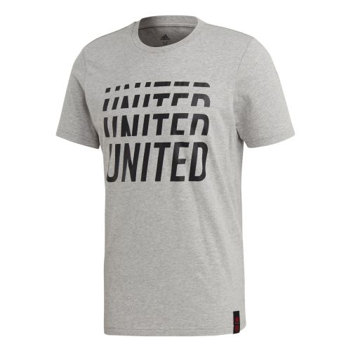 Manchester United DNA Graphic Tee - Grey