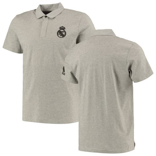Real Madrid Travel Polo - Grey