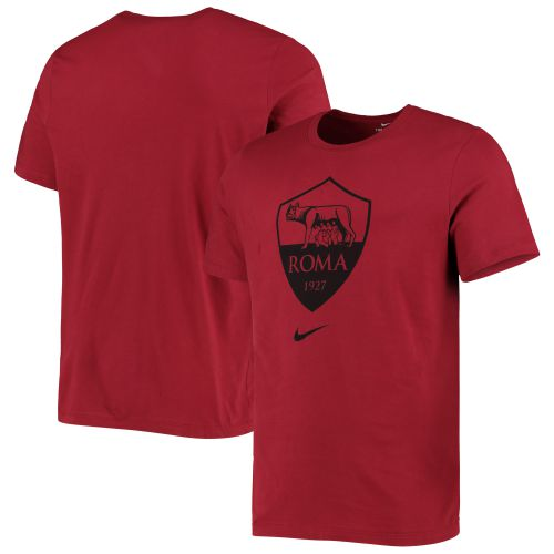 AS Roma Evergreen Crest T-Shirt - Mens