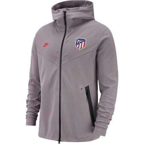 Atlético de Madrid Full Zip Tech Pack Hoodie - Grey