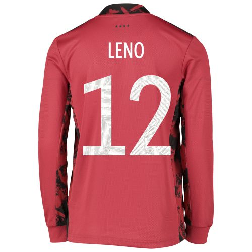 Germany Goalkeeper Shirt - Kids with Leno 12 printing