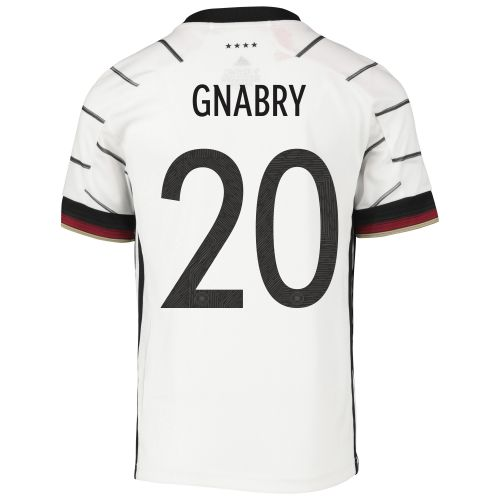Germany Home Shirt - Kids with Gnabry 20 printing