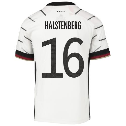 Germany Home Shirt - Kids with Halstenberg 16 printing
