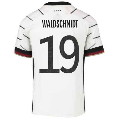 Germany Home Shirt - Kids with Waldschmidt 19 printing