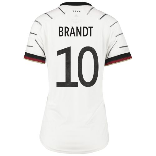 Germany Home Shirt - Womens with Brandt 10 printing