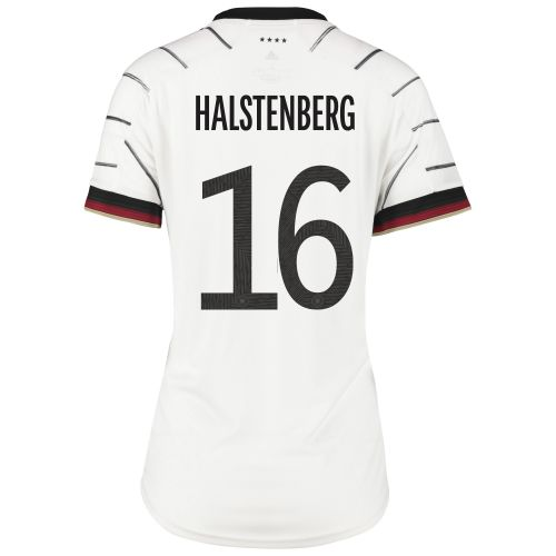 Germany Home Shirt - Womens with Halstenberg 16 printing