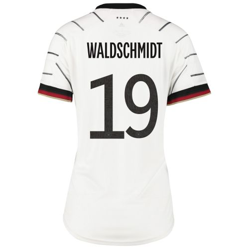 Germany Home Shirt - Womens with Waldschmidt 19 printing