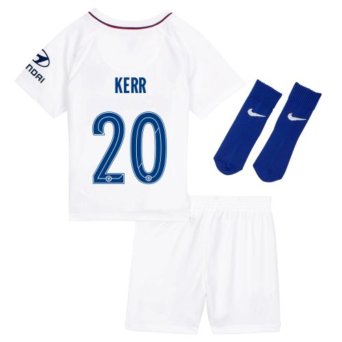 Chelsea Away Cup Stadium Kit 2019-20 - Infants with Kerr 20 printing