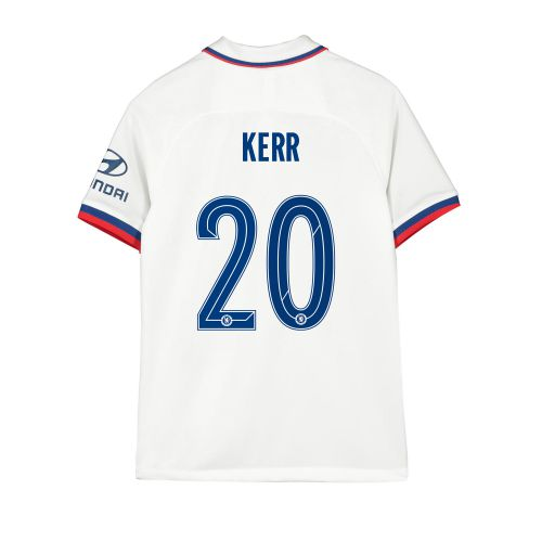 Chelsea Away Cup Stadium Shirt 2019-20 - Kids with Kerr 20 printing