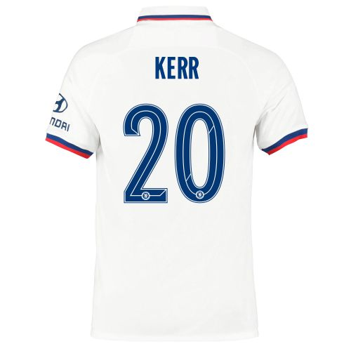 Chelsea Away Cup Stadium Shirt 2019-20 with Kerr 20 printing