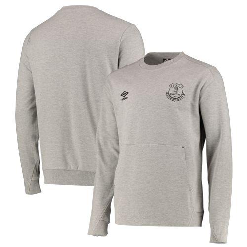 Everton Crew Sweatshirt - Grey Marl - Mens