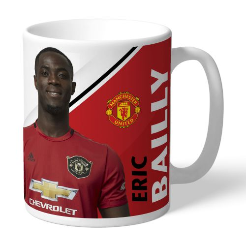 Manchester United Personalised Signature Mug - Bailly