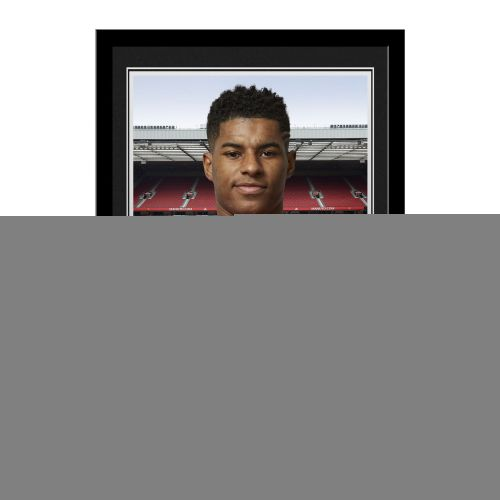 Manchester United Personalised Signature Photo Framed - Rashford