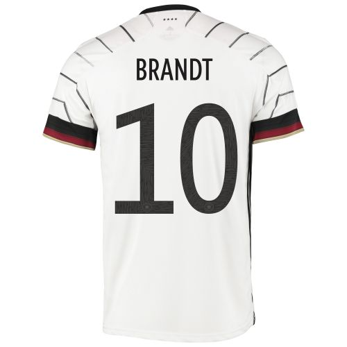 Germany Authentic Home Shirt with Brandt 10 printing