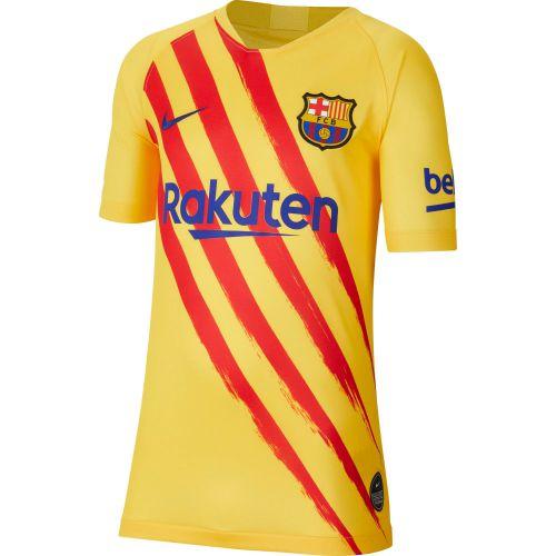 Barcelona Nike Stadium Short Sleeve Jersey - Youth