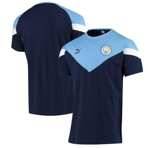 Manchester City MCS Tee - Navy