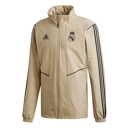 Real Madrid All Weather Training Jacket - Gold
